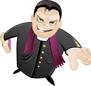 Crooked preacher