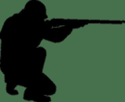 gun with man